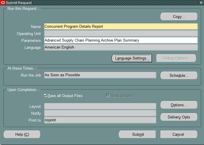 email concurrent request output in Oracle Apps